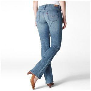 LEVI'S 515 Women's Boot Cut Jean 8 Short
